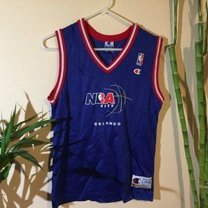 Champion Youth NBA Orlando Jersey Blue Size Large